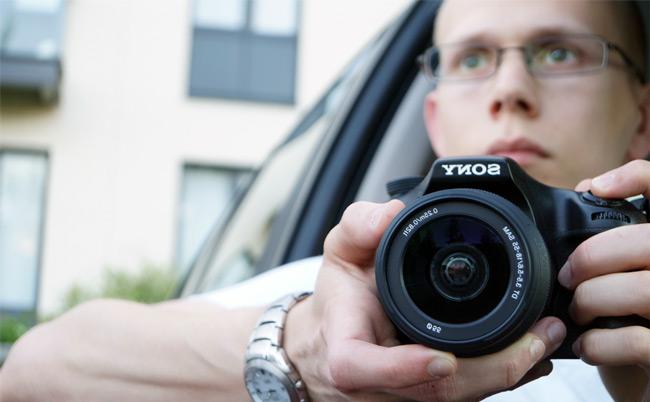 Teemu Hynninen, kamera, Sony A57