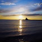 Auringonlasku, Nallikari