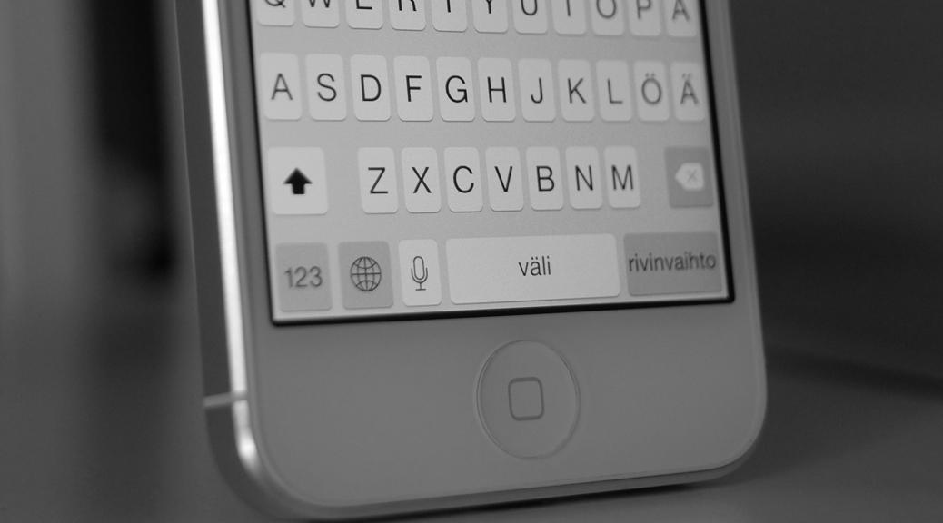 iOS 8, näppäimistö