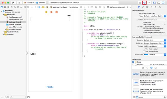 Apple Swift, Xcode 6