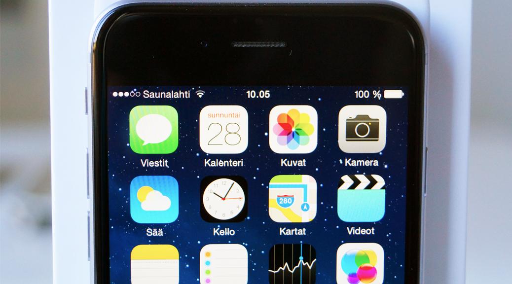 Apple iPhone 6 kosketusnäyttö