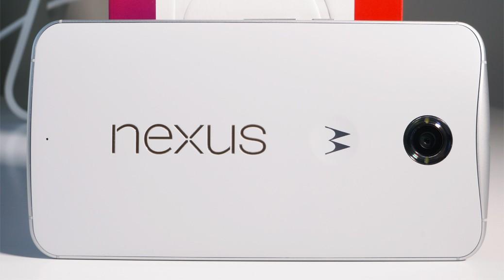 Nexus 6, valkoinen