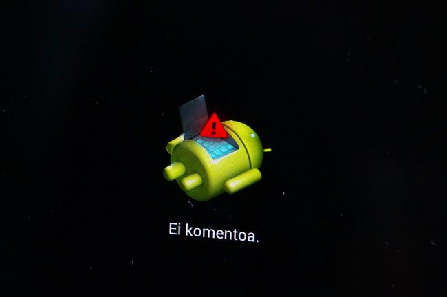 Android, ei komentoa