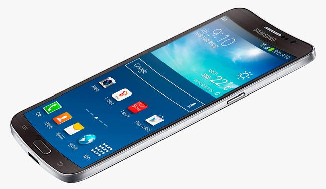 Samsung Galaxy Round.