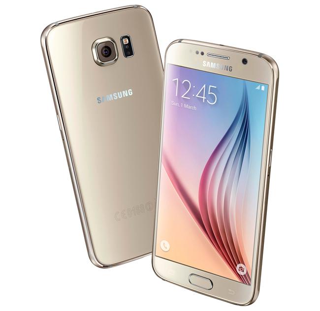 Samsung Galaxy S6 kultainen