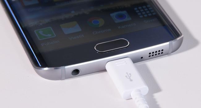 Galaxy S6 edge kotipainike