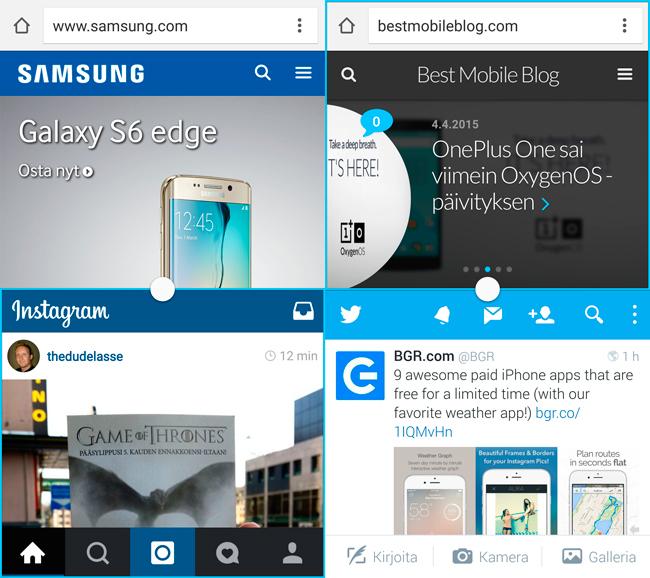Galaxy S6 moniajo