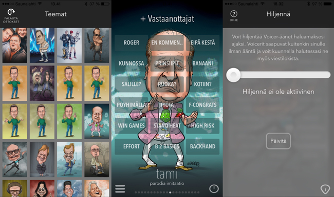 Voicenger app
